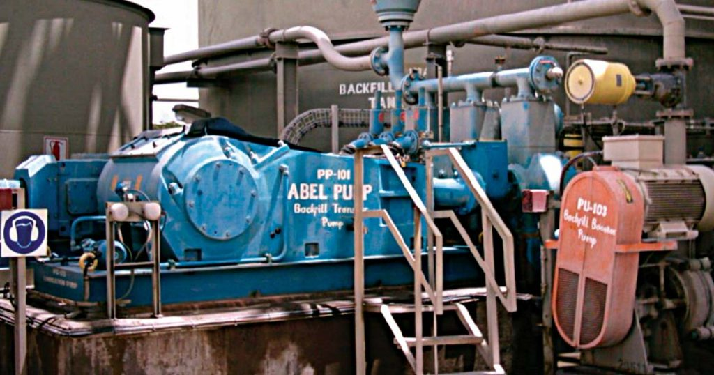 ABEL PUMP HMT – Transfer of abrasive tailings through long distance pipelines